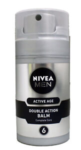 Nivea Men Active Age Double Action Balm Complete Care 2.7 Ounce (Pack of 2)