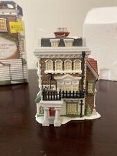 "Dept 56 ""The Crown & Cricket Inn� Ornament Village Collectors Edition 1992"