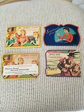 Needle Books, lot of 4, vintage, Japan, late 1940s.