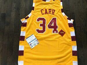 Austin Carr Signed Autographed Cleveland Cavaliers Jersey 1971 #1 Pick W/COA