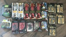 Large Star Wars Black Series and Others Lot of 19