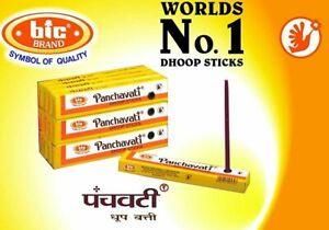 12 Box of 10 sticks120 Sticks Bic Panchvati Panchavati Dhoop Incense Sticks  F/S
