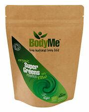 BodyMe Organic Super Greens Mix | 250 g Powder | Soil Association Certified
