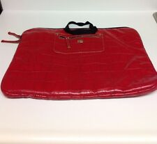 Franklin Covey Leather Embossed Laptop Bag