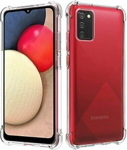 Case for Samsung A12 A22 A03S A02 A32 A52 Shockproof Clear Slim Bumper GEL Cover
