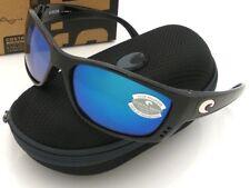 NEW Costa Del Mar FISCH Tortoise & 580 Blue Mirror Glass 580G