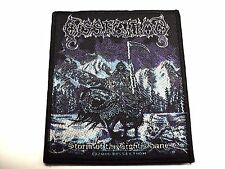 dissection storm of the light's bane  WOVEN  PATCH