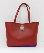 NWT Longchamp Cavalcade Shoulder Leather Tote ~ Brick