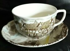 """Johnson Bros """"Olde English countryside"""" cup and saucer"""