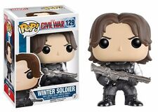 Funko Pop! Captain America 3 Civil War Winter Soldier Vinyl Action Figure