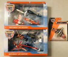 NEW & SEALED Matchbox Skybusters Diecast Lot