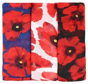 Poppy scarf - Women Fashion scarves - Long & Large & Soft WARM ladies scarves UK