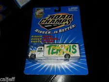 HTF 1995 DIECAST TOY 1/43 SCALE ROAD CHAMPS TENNIS TRANSPORTER TRUCK HAULER