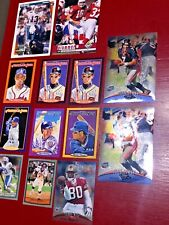Lot of 13 Oversized Football and Baseball Cards NFL MLB John Elway Barry Sanders