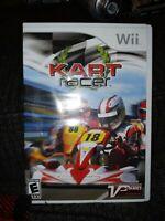 Kart Racer (Nintendo Wii, 2010) complete