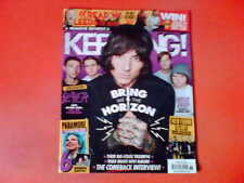 BRING ME THE HORIZON PARAMORE (6 Posters) Kerrang! Mag 5/9/15 SLAYER