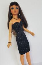 "TIFFANY TAYLOR 19"" DOLL CLOTHES Sexy Dress & Jewelry FASHION NO DOLL d4e"