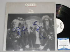 "QUEEN  ROGER TAYLOR BRIAN MAY   Hand Signed LP + PSA  BECKETT COA ""Buy Authentic"