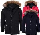 Geographical Norway warme Herren Winterjacke Outdoor Parka Anorak winter Mantel