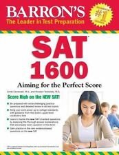 Barron's SAT 1600 : Aiming for the Perfect Score by Linda Carnevale and Roselyn