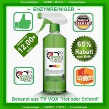 Enzymreiniger ~ Grüner Teufel 500 ml mit Sprühkopf ~ Aus TV Hot oder Schrott