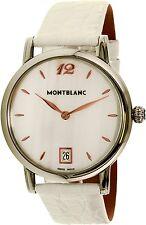Montblanc Women's Star Classique 108765 Silver Alligator Leather Swiss Quartz Wa