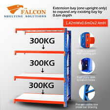 Long Span Storage Warehouse Shelving Racking Racks Shelf, 1.5Wx0.6Dx2.4mH A