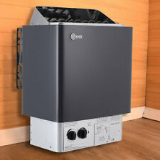 More details for 3/4.5/6/8/9kw electric sauna heater home indoor spa steam sauna room stove rock