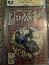 Amazing Spider-Man #300 CGC SS 9.2 2x signed Todd McFarlane Michelinie 1st Venom