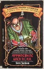 APPOINTMENT WITH F.E.A.R. by Steve Jackson (1986) Dell illustrated #17 pb 1st
