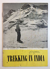 Trekking In India Himalayas Hiking Guide Book 1954 The Tourist Traffic Branch