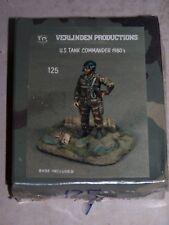 Kit VERLINDEN N°125 1/35ème U.S. TANK COMMANDER 1980's