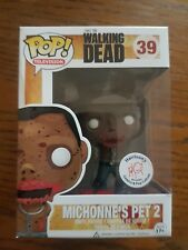 Walking Dead Funko POP Harrison's Comics Exclusive Michonne's Pet 2 #39