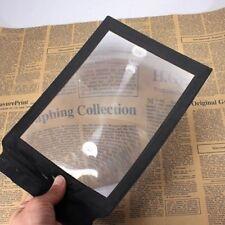 Careshine 3X lupa ayuda de lectura de mano para A4 página ampliación de hoja