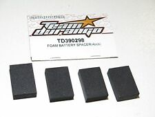 Team Durango TD390298 Battery Spacer Foam For DEX210 DEST210R Etc (4) - NEW