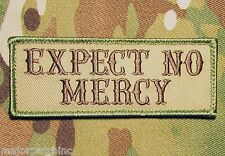 EXPECT NO MERCY USA ARMY BADGE MULTICAM VELCRO® BRAND FASTENER MORALE PATCH