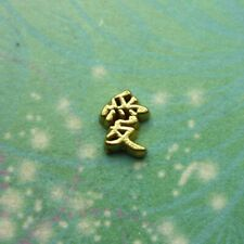 New Chinese Character - Love - Charm for Floating Charm Lockets Memory Necklaces
