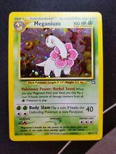 Meganium 10/111 Neo Genesis - Holographic Rare Pokemon Card NM