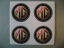 4x 45 mm fits mg mgf wheel STICKERS center badge centre trim cap hub alloy cl