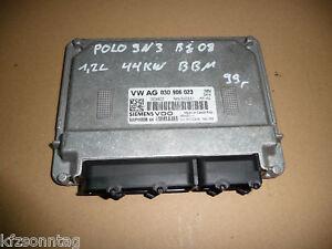 VW Polo 9N3   Motorsteuergerät BBM