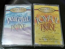 SEALED Heart of Worship Lot: Joyful Praise & Peaceful Praise Christian Cassette