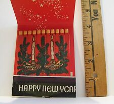 VINTAGE MERRY CHRISTMAS KILBOURN STATE BANK JUMBO FEATURE ADVERTISING MATCHBOOK