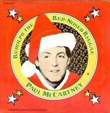 7inch PAUL McCARTNEY a wonderful christmastime HOLLAND 1979 EX BEATLES