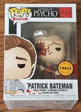 Funko Pop American Psycho Patrick Bateman #942 CHASE MINT w/ .5mm Protector