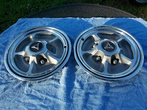 1968 1969 Dodge dart GTS hub caps 2