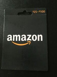 AMAZON $50 GIFT CARD ACTUAL CARD PHYSICAL CARD SHIPPED 50 DOLLAR VALUE