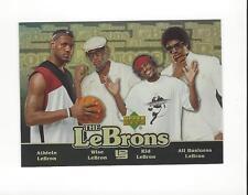 2006-07 UD Reserve The LeBrons Gold #LBJ15 LeBron James Cavaliers