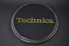 "Technics SL-1200 SL-1210 Platter ""24K 24ct GOLD SWAROVSKI CRYSTAL"" / LTD GLD"