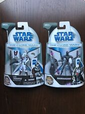 Star Wars The Clone Wars: Clone Trooper with Space Gear & Magnaguard figures