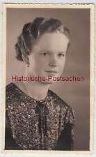 (F1924) Orig. Foto Portrait junge Frau, Fotograf Mittweida